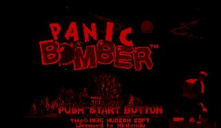 Screenshot Thumbnail / Media File 1 for Panic Bomber (USA)