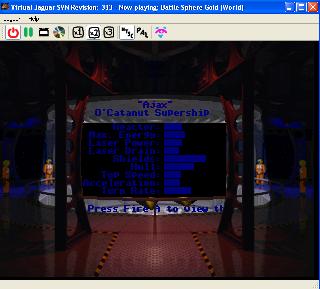 Screenshot Thumbnail / Media File 1 for Battle Sphere Gold (World)