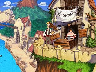 Screenshot Thumbnail / Media File 1 for The Curse Of Monkey Island (CD Windows)