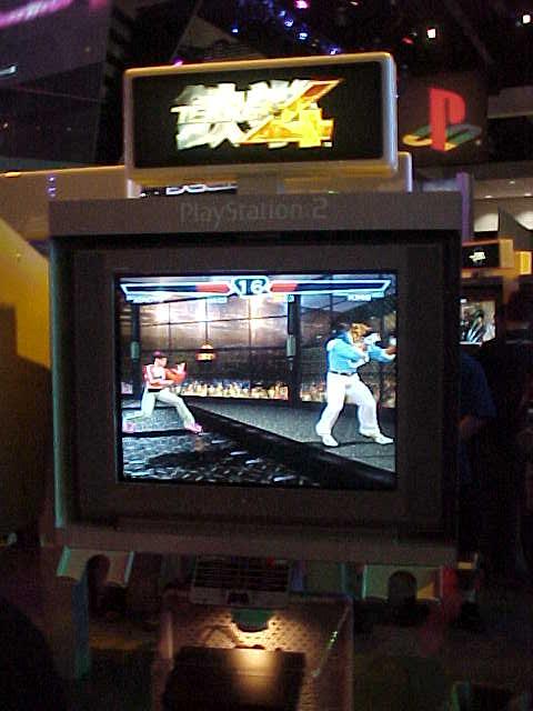 Tekken 4 (TEF1 Ver. A) ROM