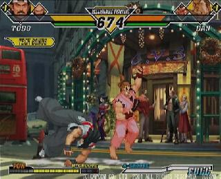 Screenshot Thumbnail / Media File 1 for Capcom vs. SNK 2 - Millionaire Fighting 2001 (J)