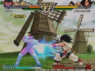 Screenshot Thumbnail / Media File 1 for Capcom vs. SNK 2 - Millionaire Fighting 2001 (J)