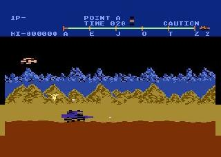 Screenshot Thumbnail / Media File 1 for MoonPatrol 1983
