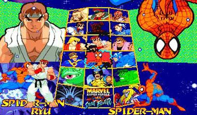 Marvel Vs Capcom Clash Of Super Heroes Usa 980123 Rom
