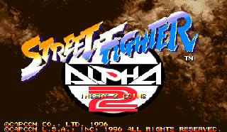 Screenshot Thumbnail / Media File 1 for Street Fighter Alpha 2 (USA 960306)