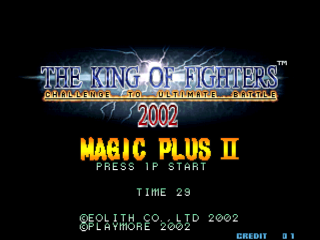 Screenshot Thumbnail / Media File 1 for The King of Fighters 2002 Magic Plus II (Bootleg)