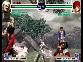 Screenshot Thumbnail / Media File 1 for The King of Fighters 2002 Magic Plus (Bootleg)