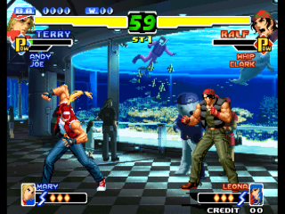 Screenshot Thumbnail / Media File 1 for The King of Fighters 2000 (Not Encrypted)