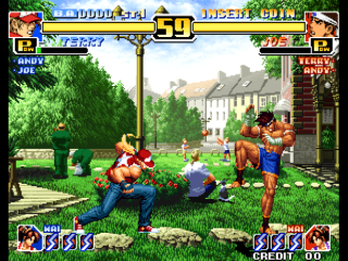 Screenshot Thumbnail / Media File 1 for The King of Fighters '99: Millenium Battle (Prototype)