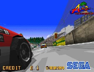 Screenshot Thumbnail / Media File 1 for Daytona USA (Japan, Revision A)
