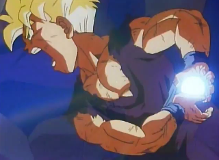 Screenshot Thumbnail / Media File 1 for Dragon Ball Z - Shin Saiyajin Zetsumetsu Keikaku Uchuu Hen (1994)(Bandai)(JP)