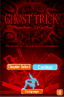 Screenshot Thumbnail / Media File 1 for Ghost Trick - Phantom Detective (U)