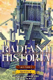 Screenshot Thumbnail / Media File 1 for Radiant Historia (U)