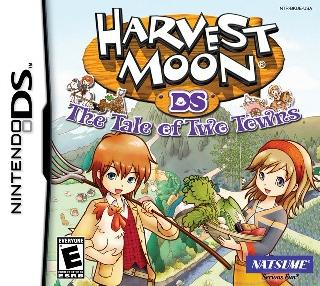 Screenshot Thumbnail / Media File 2 for Harvest Moon DS - The Tale of Two Towns (U)