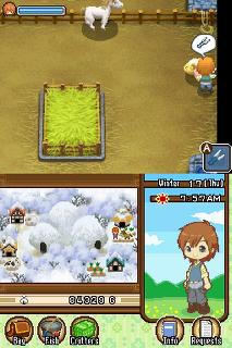 Screenshot Thumbnail / Media File 1 for Harvest Moon DS - The Tale of Two Towns (U)
