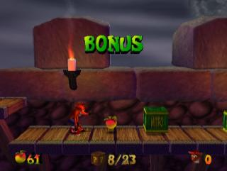 Screenshot Thumbnail / Media File 1 for Crash Bandicoot - The Wrath of Cortex (USA)