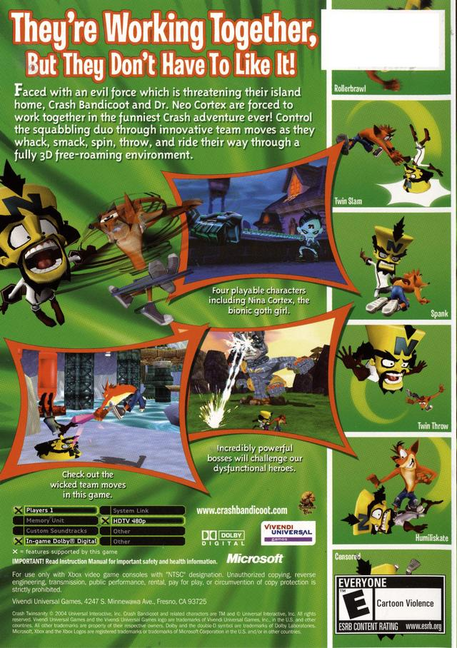 Crash twinsanity pc