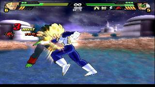 Screenshot Thumbnail / Media File 1 for DragonBall Z - Budokai Tenkaichi 3 (USA) (En,Ja)