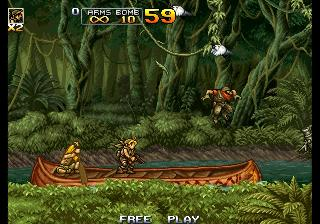 Screenshot Thumbnail / Media File 1 for Metal Slug Anthology (USA)