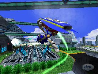 Screenshot Thumbnail / Media File 1 for Sonic Riders - Zero Gravity (USA)