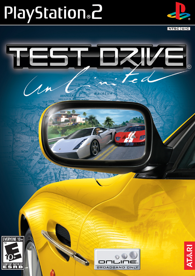 Test Drive Unlimited (USA) ISO