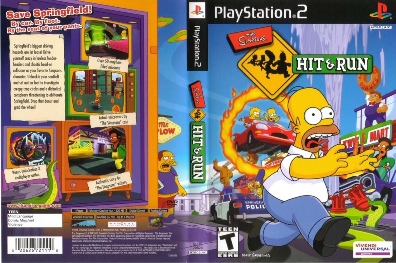 descargar los simpson hit and run en espanol