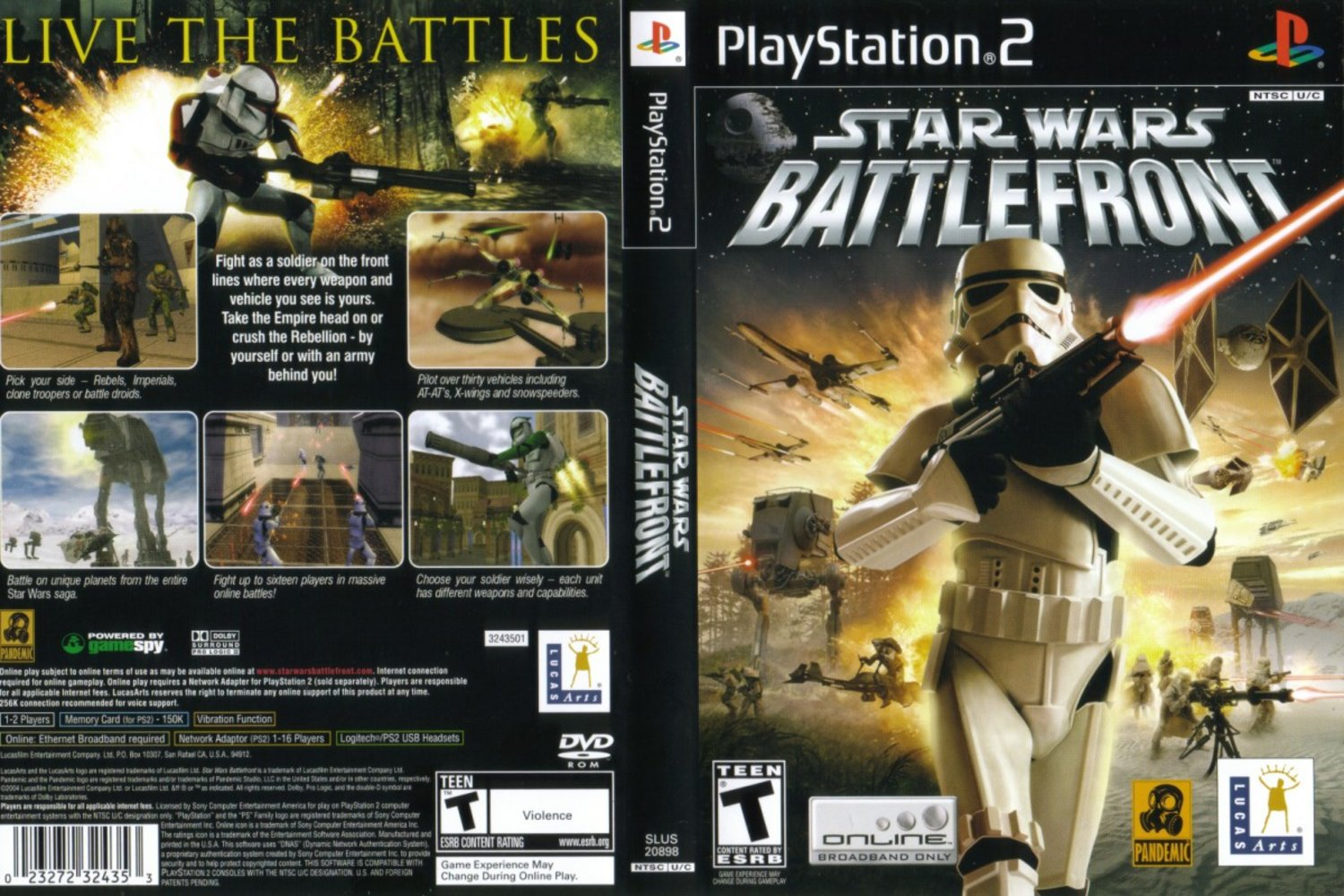 Star Wars - Battlefront (USA) ISO
