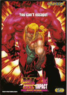 Screenshot Thumbnail / Media File 1 for Street Fighter III 2nd Impact - Giant Attack (US)