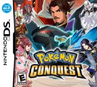 Screenshot Thumbnail / Media File 1 for Pokemon Conquest (DSi Enhanced) (E)