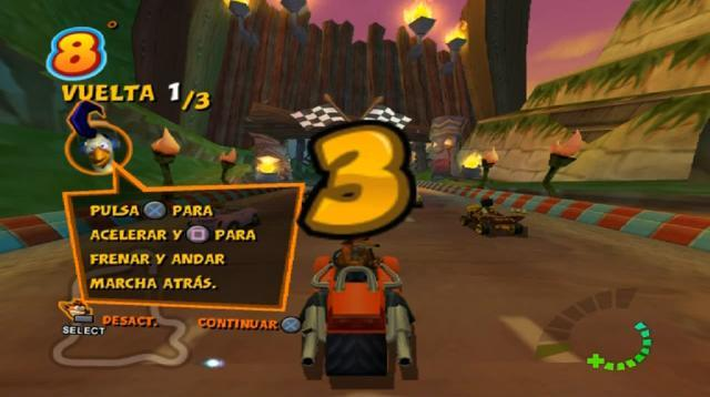 Crash Tag Team Racing (Europe, Australia) (En,Fr,De,Es,It ...