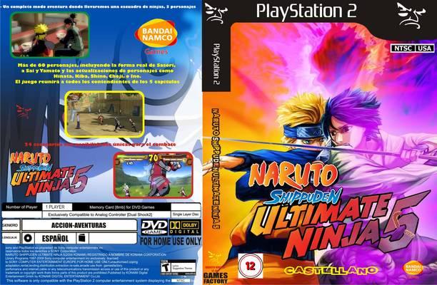 Naruto Shippuden Ultimate Ninja 5 Para Pc