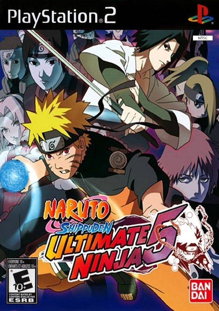 naruto ultimate ninja 4 naruto shippuden ps2