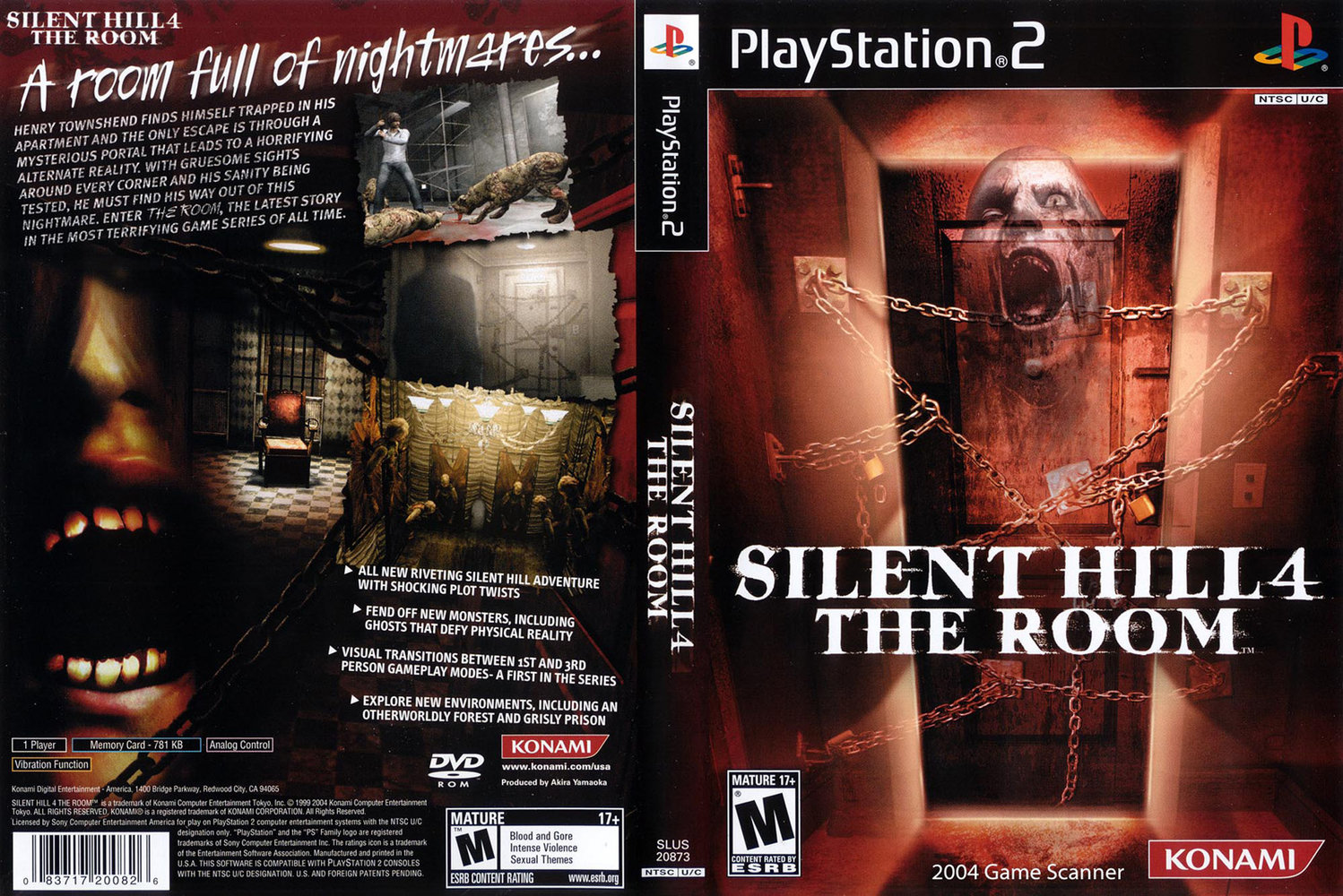 Ps3 Silent Hill 4 The Room