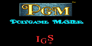 Screenshot Thumbnail / Media File 1 for PGM (Polygame Master) System BIOS