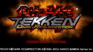 Screenshot Thumbnail / Media File 1 for Tekken - Dark Resurrection (USA)