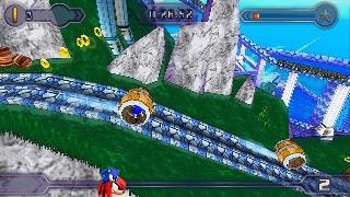 Screenshot Thumbnail / Media File 1 for Sonic Rivals 2 (USA)