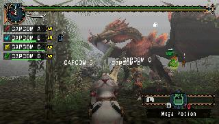 Screenshot Thumbnail / Media File 1 for Monster Hunter Freedom Unite (USA)