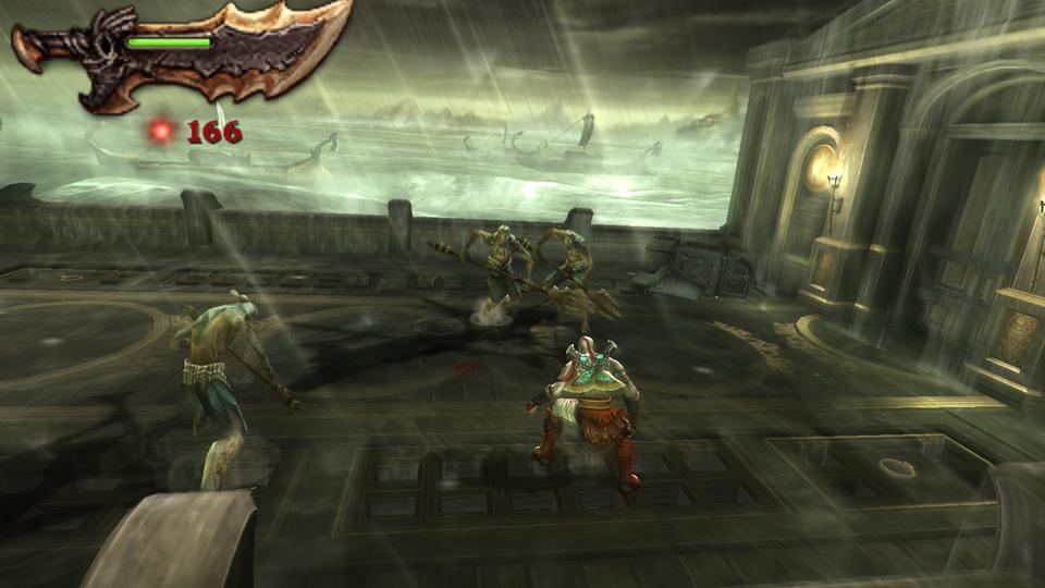 Скачать на psp god of war ghost of sparta