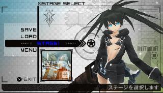 Screenshot Thumbnail / Media File 1 for Black Rock Shooter - The Game (Japan)