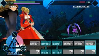 Screenshot Thumbnail / Media File 1 for Fate Extra (USA)