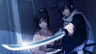 Screenshot Thumbnail / Media File 1 for Hakuoki - Demon of the Fleeting Blossom (USA)