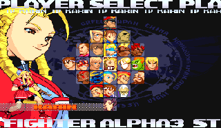 Screenshot Thumbnail / Media File 1 for Street Fighter Alpha 3 (Euro 980904)