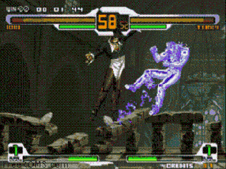 Screenshot Thumbnail / Media File 1 for SNK vs. CAPCOM SVC CHAOS Super Plus (bootleg)
