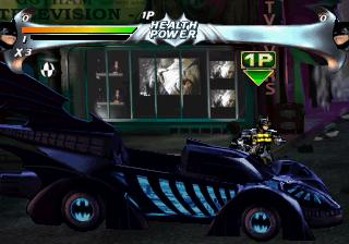 Screenshot Thumbnail / Media File 1 for Batman Forever The Arcade Game (U)