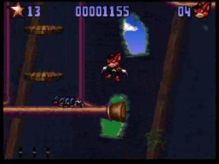 Screenshot Thumbnail / Media File 1 for Aero the Acro-Bat 2 (Europe)