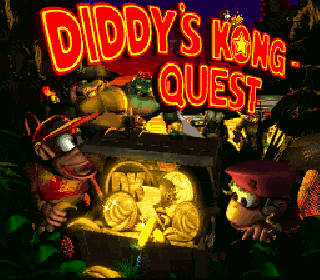 Screenshot Thumbnail / Media File 1 for Donkey Kong Country 2 - Diddy's Kong Quest (USA) (En,Fr)
