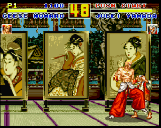 Screenshot Thumbnail / Media File 1 for Fatal Fury Special (USA)