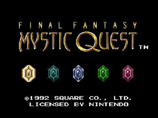 Screenshot Thumbnail / Media File 1 for Final Fantasy - Mystic Quest (USA)