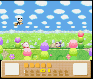 Screenshot Thumbnail / Media File 1 for Kirby's Dream Land 3 (USA)