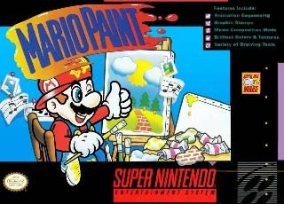 Screenshot Thumbnail / Media File 1 for Mario Paint (Japan, USA)